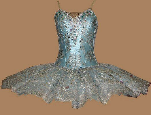 Professional+Ballet+Companies | crystal fountain fairy tutu in pale blue satin and net, silver/ lilac ...