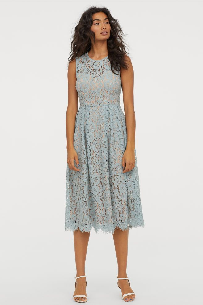 bandeau klänning dam
