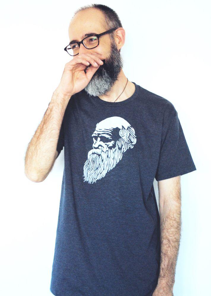 Darwin T-Shirt   Papirklipp  http://papirklipp.bigcartel.com/product/darwin-t-shirt