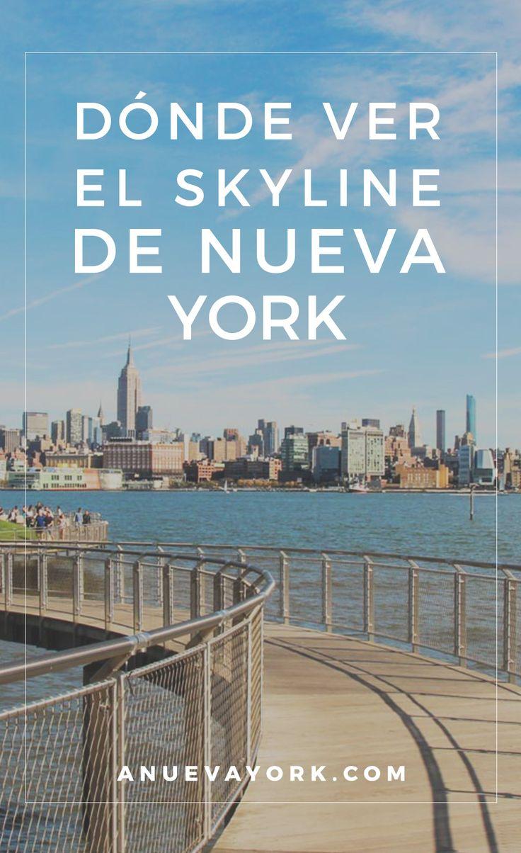 10 lugares de Nueva York para tener unas vistas estupendas del skyline... ¡y por menos de $5! #NuevaYork