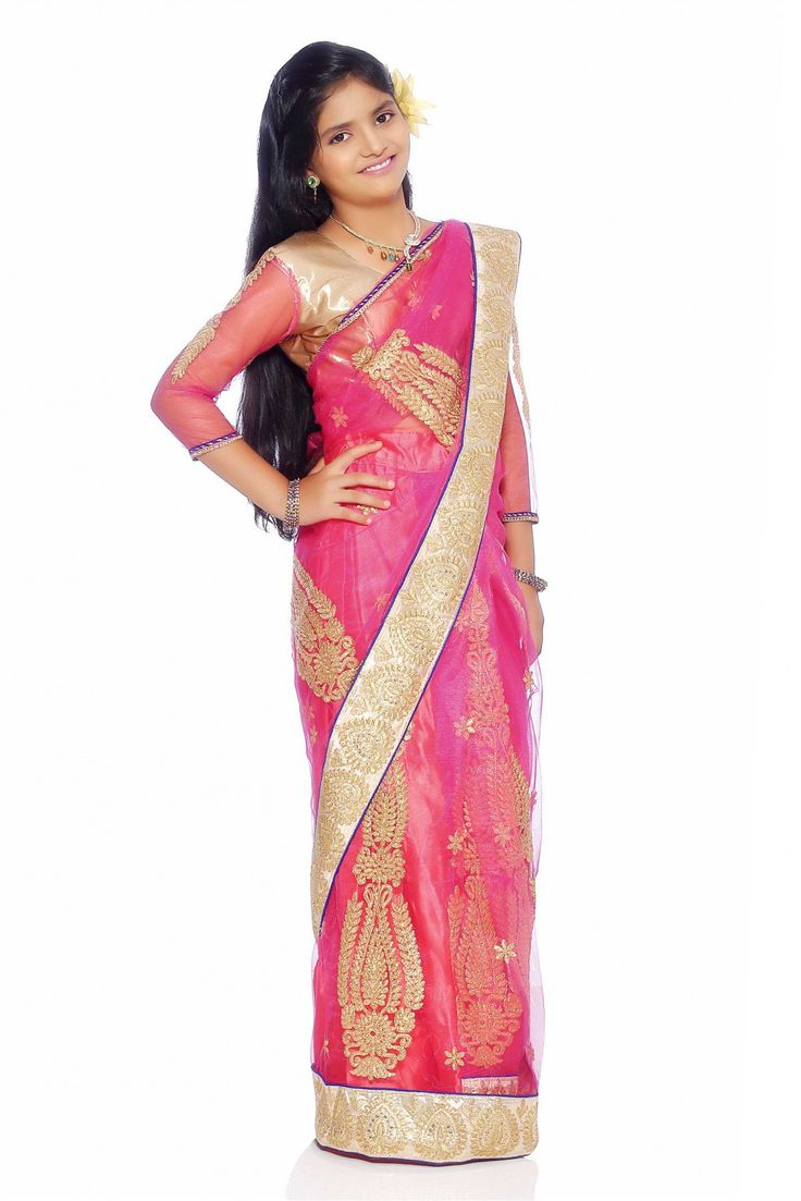 Are you looking to buy designer sarees for your kids.