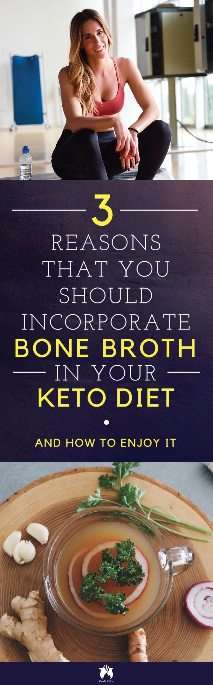 Bone broth is an established superfood embraced for its healing properties. So how does bone broth fit into a Ketogenic diet? Let's dive in.