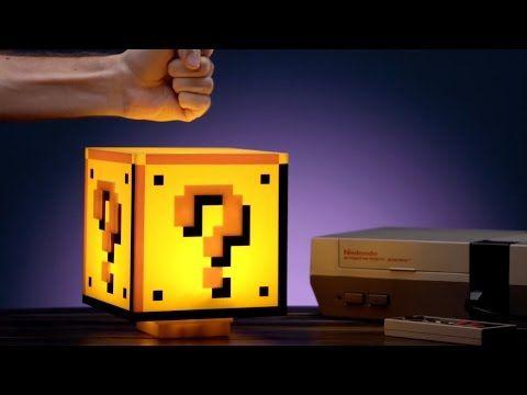 Question Block Light: Officially licensed Super Mario Bros. lamp.