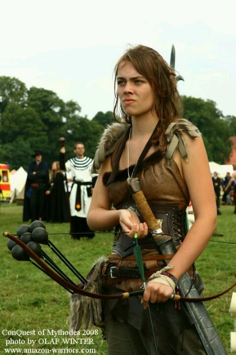 Larp archer makes pissed off look so.....cute