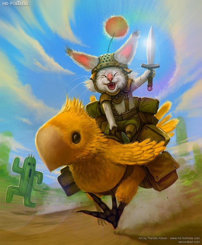 Final Fantasy tribute artworks - Randis