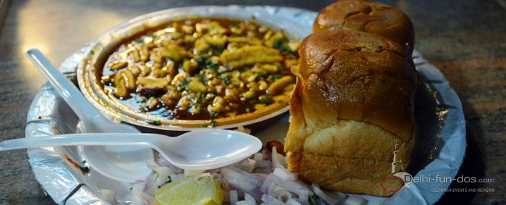 The Maharashtra Food Stall at Dilli Haat (INA) is one of the most popular state food stalls. They serve a variety of snack, meal and sweet dishes. The snack and the meals are high on the chilly factor. However their Puran Poli is something to die for.