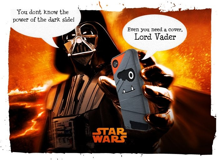 iPhone Cover Memes created for Star Wars Day