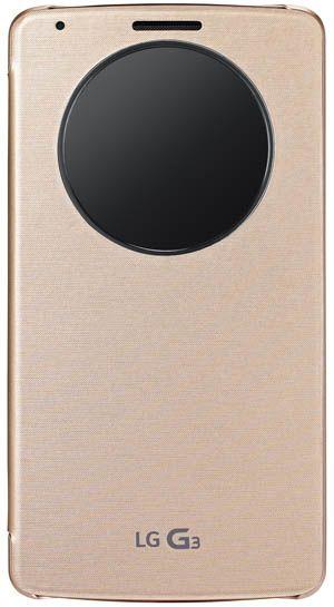 Huse Quick Circle LG G3 gold