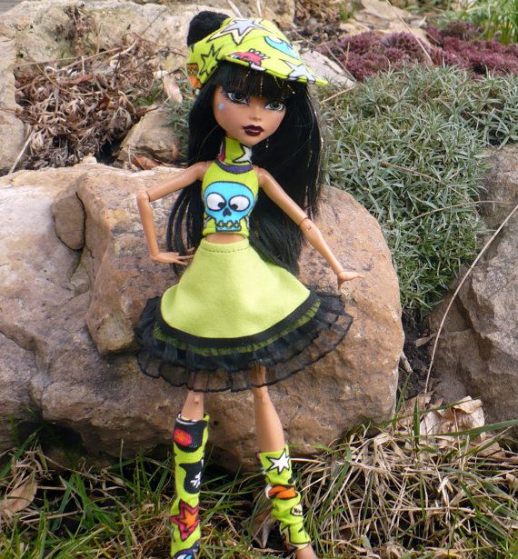 Easter set for Monster doll. MH doll outfit. by LussiFashion