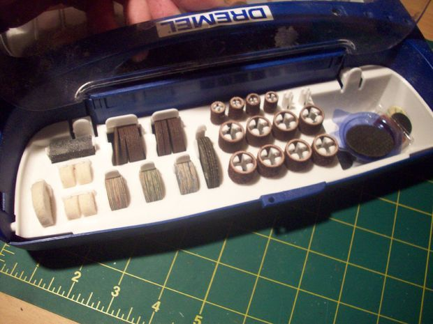 how to use different Dremel bits