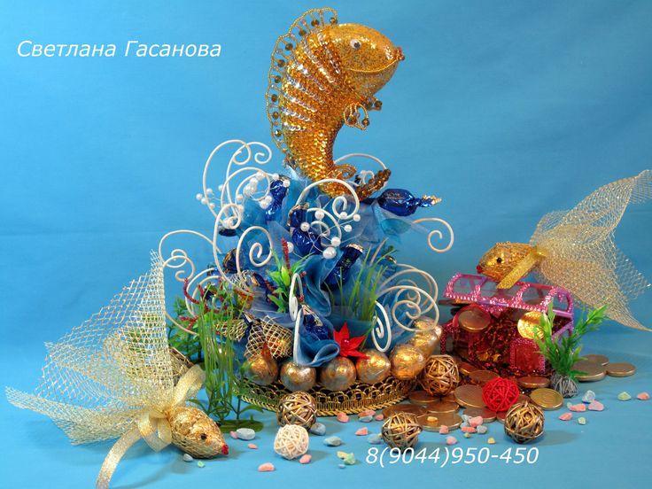 Рыба Тай. Свит-дизайн.