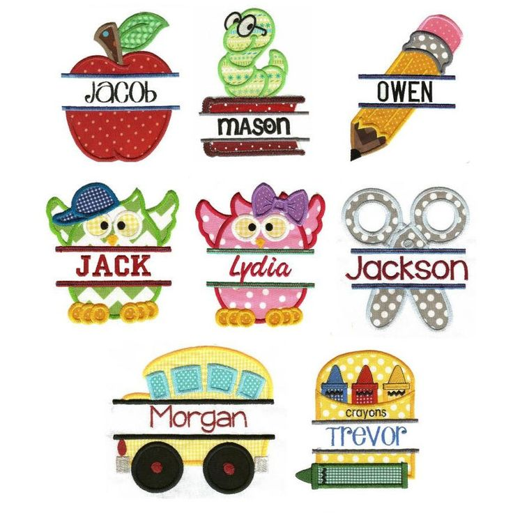 1000 Images About Back To School Felt On Pinterest
