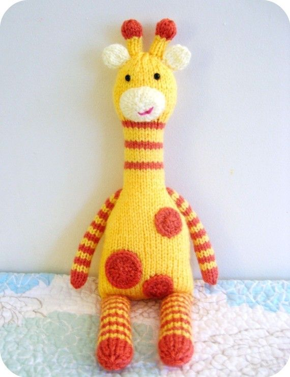 Knit Giraffe Pattern