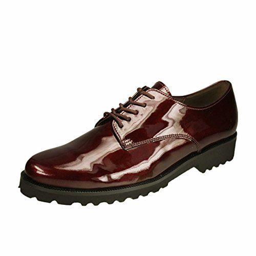 Gabor Schuh 31.412.95 , Rot (Merlot) , EU 40 (UK 6.5) - http://on-line-kaufen.de/gabor/40-eu-gabor-shoes-31-41-damen-derby-7