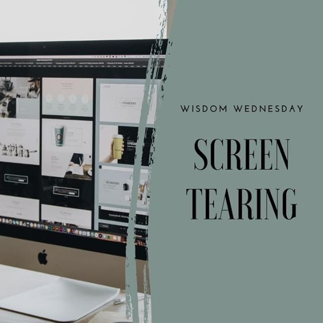 Screen tearing is a distortion in graphics that happens when