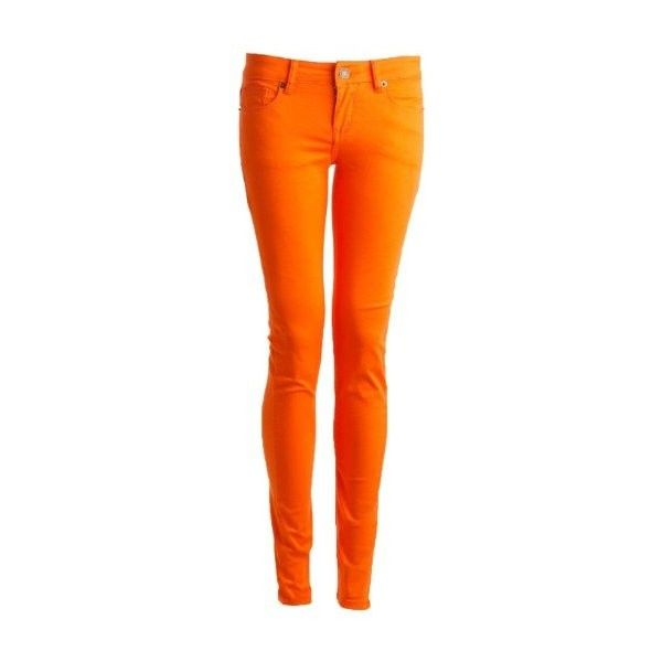 78  ideas about Orange Skinny Jeans on Pinterest | Colored skinny ...