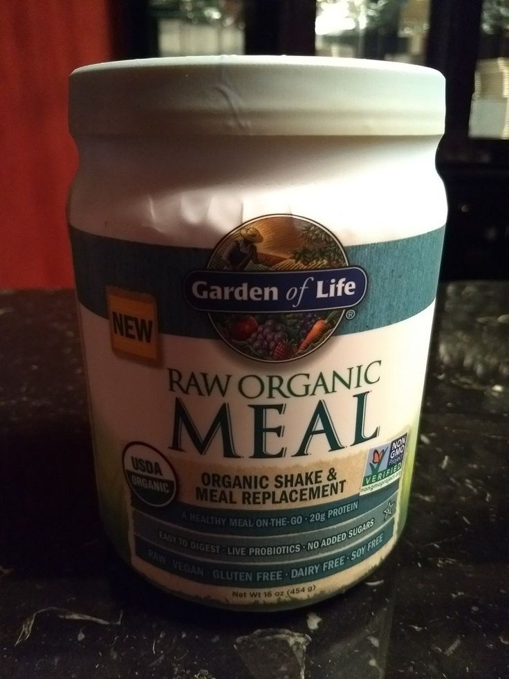 Garden of Life Raw Organic Meal - Organic Shake and Meal Replacement, Unflavored - $27.25 -