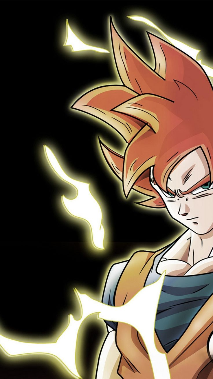Goku Super Saiyan God Wallpaper For Android 2019 Iphone X
