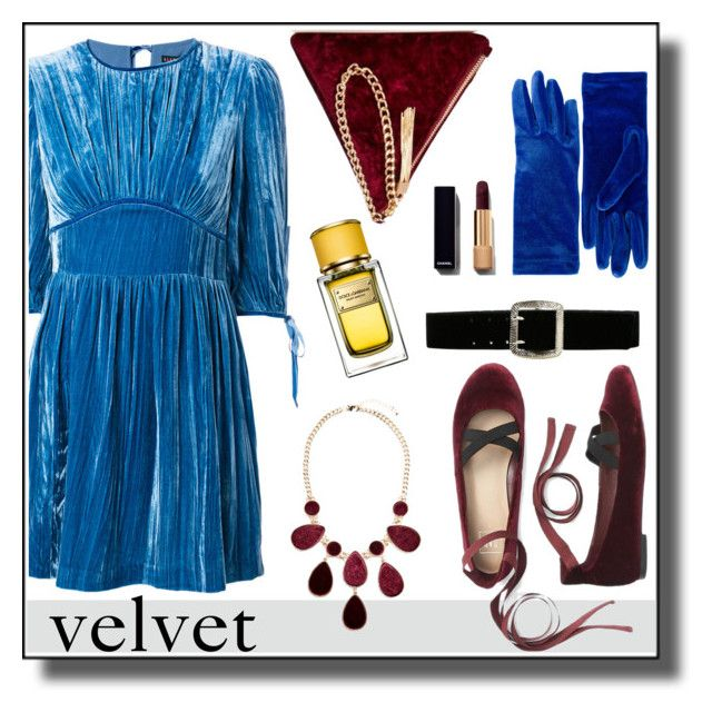 """#velvet"" by hellodollface ❤ liked on Polyvore featuring Street Level, Balenciaga, Express, Dolce&Gabbana, GUESS by Marciano and velvet"