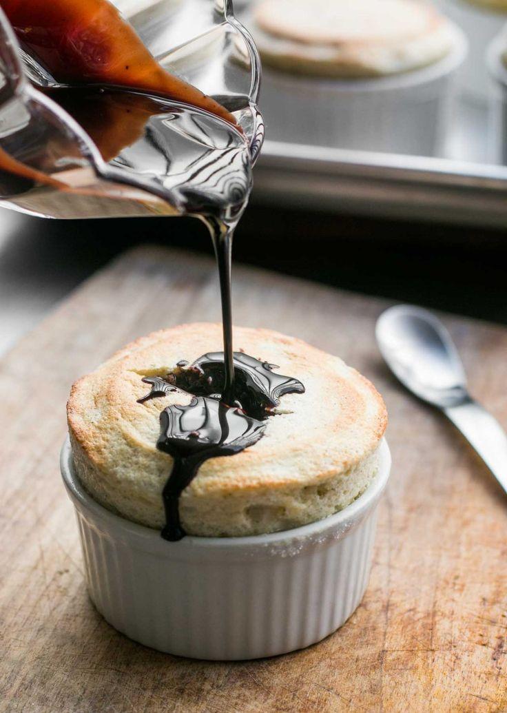 Souffle with Chocolate Sauce | Recipe | Chocolate Sauce Recipes, Sauce ...