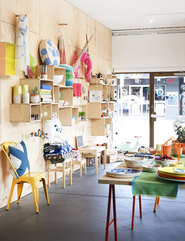 The Melbourne store Hut 13. Photo by Eve Wilson via thedesignfiles.net