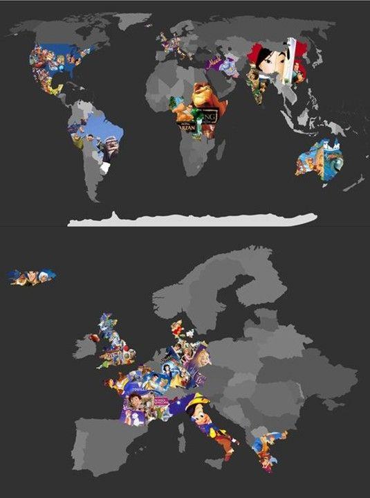 Disney movie locations