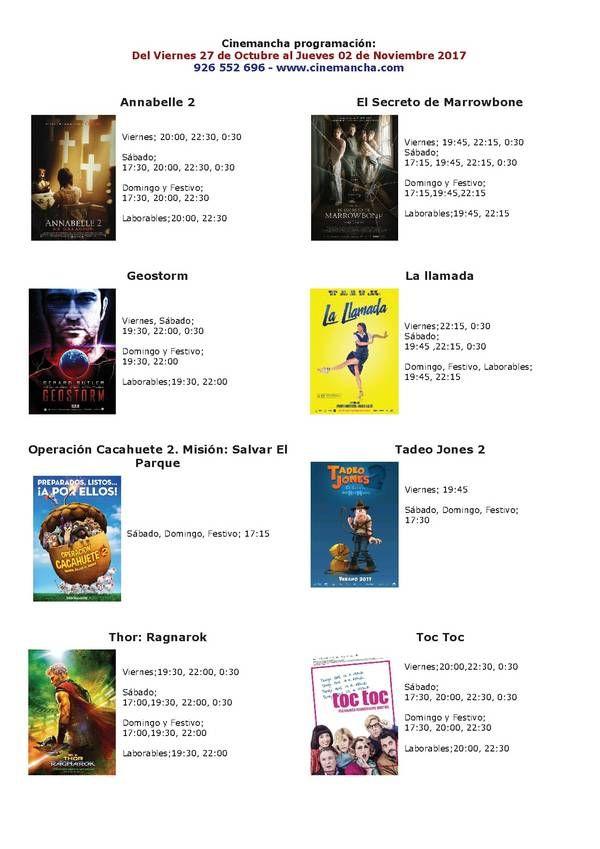 Programación Cinemancha del viernes 27 al jueves 02 - https://herencia.net/2017-10-27-programacion-cinemancha-del-viernes-27-al-jueves-02/?utm_source=PN&utm_medium=herencianet+pinterest&utm_campaign=SNAP%2BProgramaci%C3%B3n+Cinemancha+del+viernes+27+al+jueves+02
