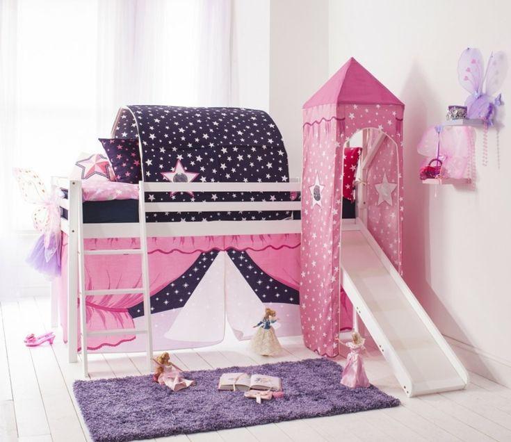 Kinderbett mit Rutsche – das Hochbett wird zum Spielplatz