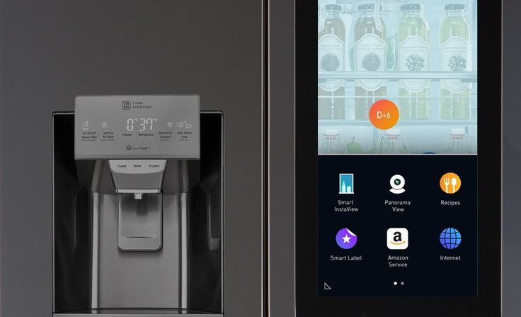 By using it, you can view what lies inside the refrigerator with two simple taps on the glass screen.