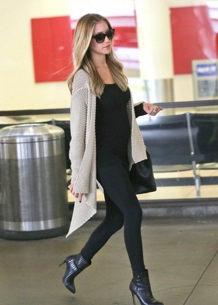 Kristin Cavillari spotted at the airport with her small baby bump