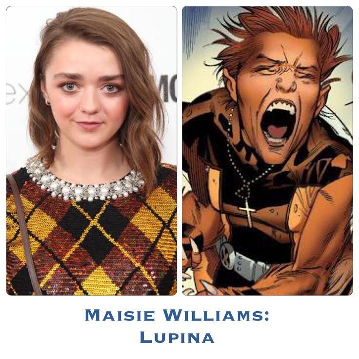Maisie Williams as Wolfsbane