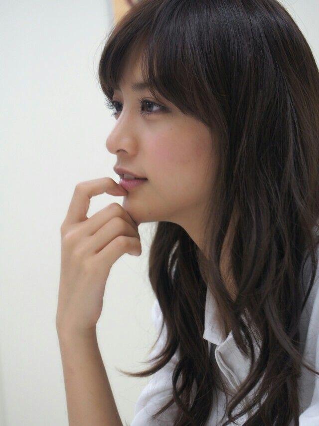 Gutaussehende japanische Mädchen
