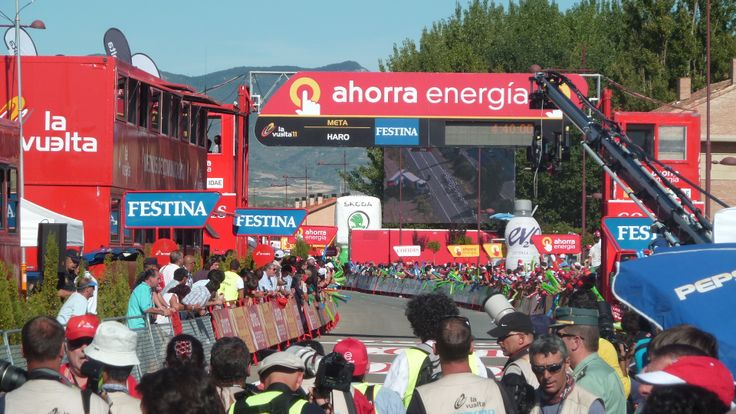 Nerves at finish line