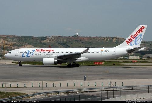 Air Europa cancelará 92 vuelos por la huelga general
