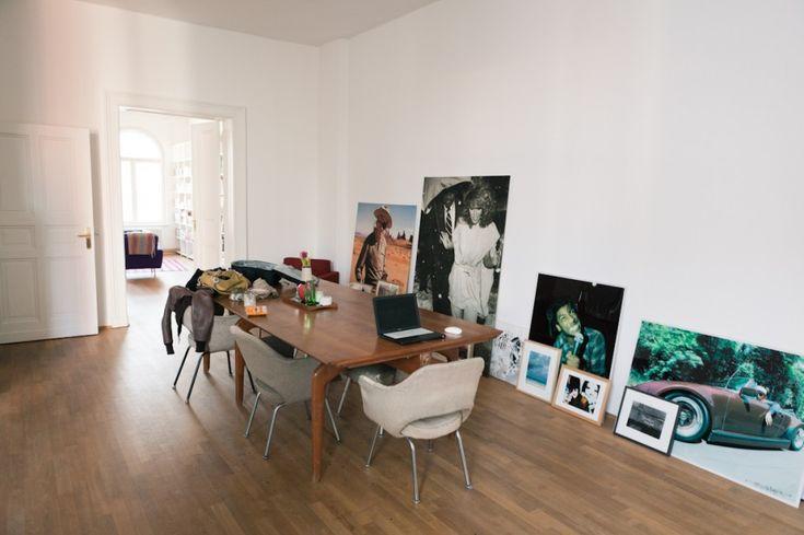 Oskar Melzer's Apartment in Berlin Mitte / photo by Philipp Langenheim