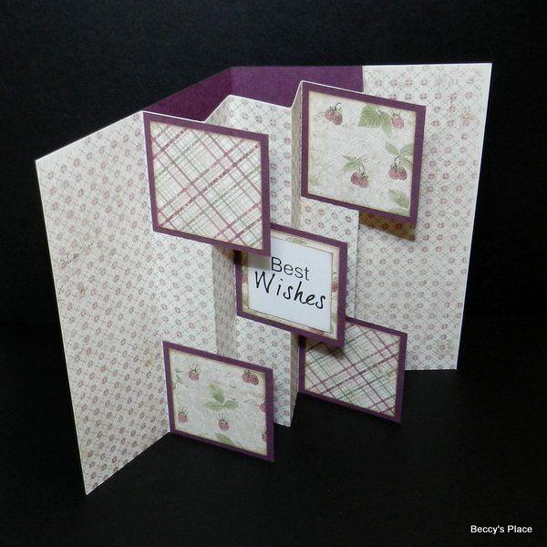 TUTORIAL.... Flag Fold Card