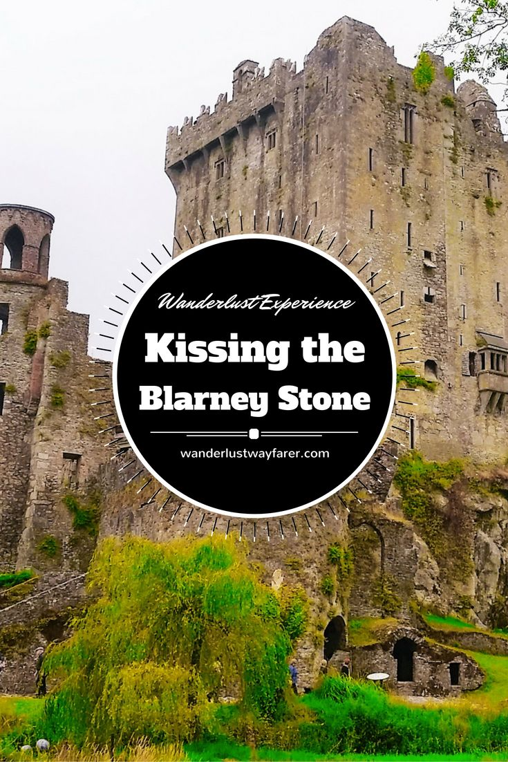 You've probably heard people talk about kissing the Blarney Stone, but you may be wondering what that means exactly?