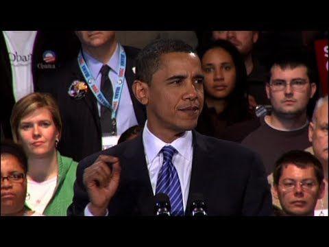 Barack Obama: Iowa Caucus Victory Speech - YouTube