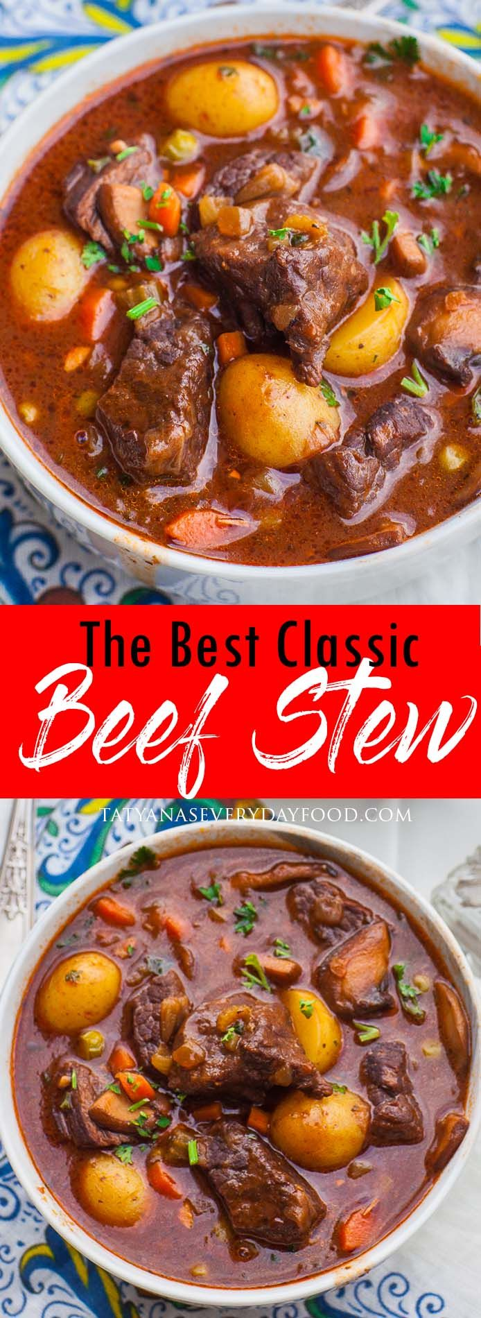 The Best Ever Beef Stew Recipe Video Tatyanas Everyday Food Recipe Tatyana S Everyday Food Beef Stew Recipe Best Beef Stew Recipe