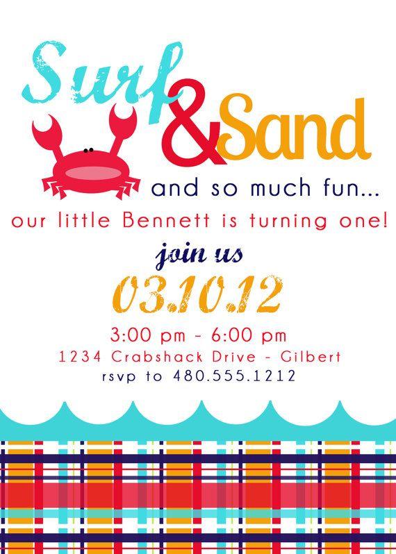 85 best Casonu0027s 1st Birthday images on Pinterest Birthday party - fresh birthday party invitation designs