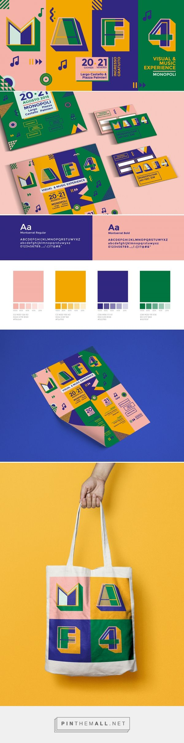 Mondopolitani Art Fest Branding by Claudia Alexandrino | Fivestar Branding Agency – Design and Branding Agency & Curated Inspiration Gallery