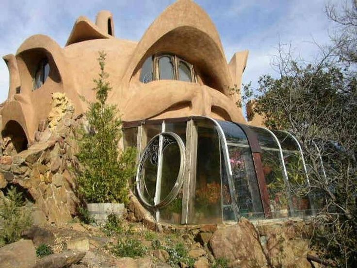 43 best images about aircrete homes on pinterest dome homes vintage airstream and buckminster - Houses made from natural materials ...
