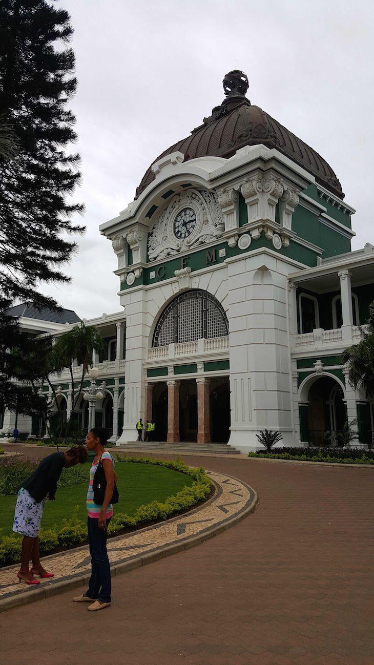 Estação do Caminho de Ferro de Maputo, Moçambique | Viaje Comigo