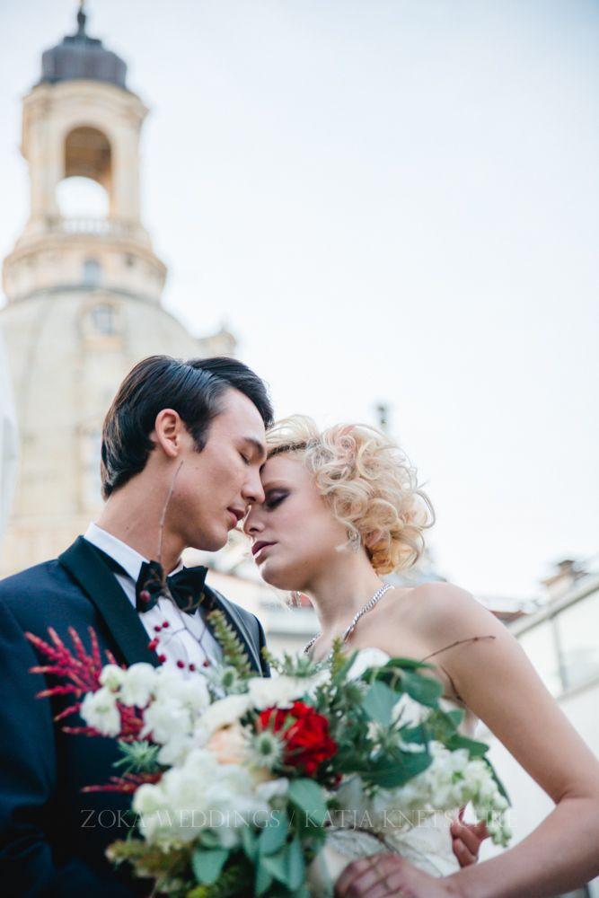 Glamouröse Hochzeit im Hotel Suitess Dresden