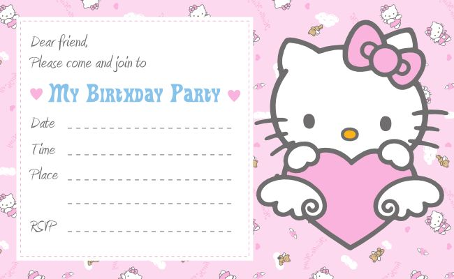 13 best hello kitty party images on pinterest kitty party free download cute printables template free printablehello kitty invitation birthday party filmwisefo