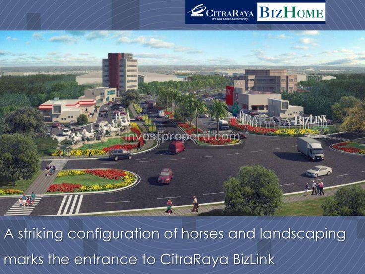Gate masuk BizHome @ BizLink Citra Raya