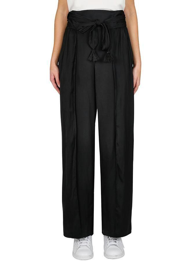 Luxe Deluxe - Look Twice Split Pant - Black