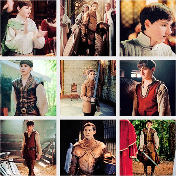 Prince/Knight/King Henry + Enchanted forest clothing.