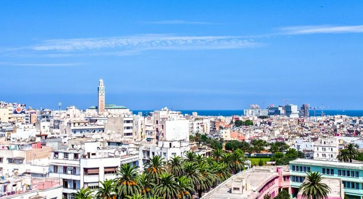 Atlas Almohades Casablanca City Center Casablanca This hotel is located in central Casablanca, 1 km from the port and 5 km from the beach. It offers air-conditioned accommodations with free internet, 2 meeting rooms, and a wellness centre.