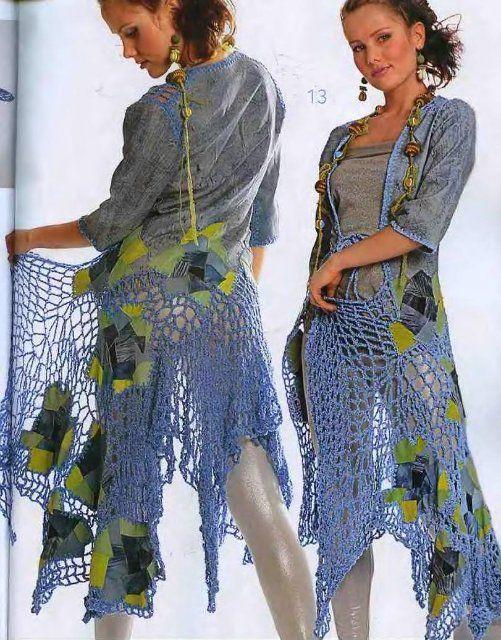 Irish crochet &: ZHURNAL MOD 508
